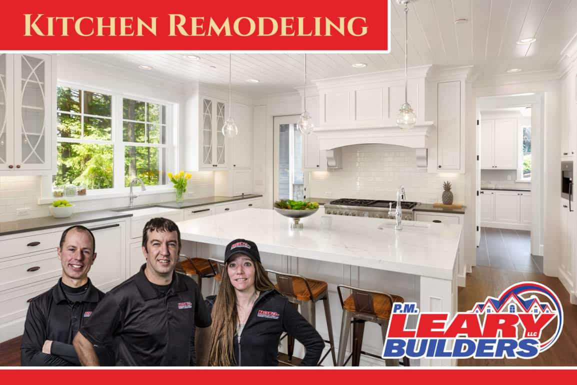 PM Leary Builders Kitchen Remodeling